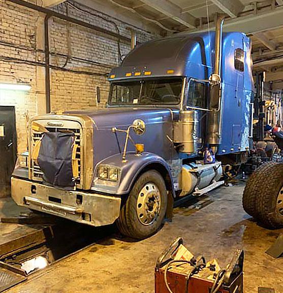 Техническое обслуживание полуприцепов грузовиков в Санкт-Петербурге