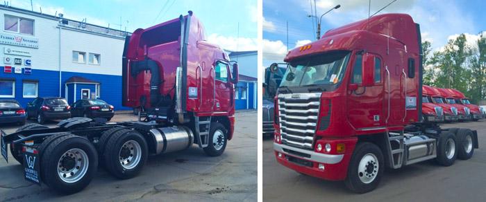 Купить грузовик Фредлайнер Аргоси в Санкт-Петербурге и Москве