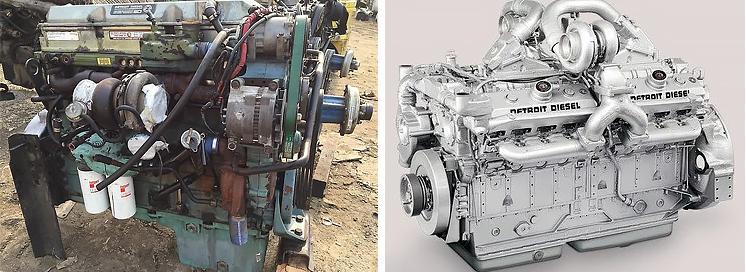 Двигатели Детройт Дизель в СПб и МСК недорогой сервис