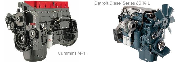 Конкуренты Caterpillar — Cummins и Detroit Diesel