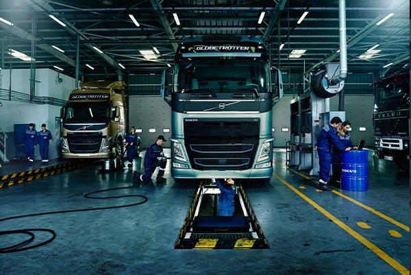ТО Volvo Truck