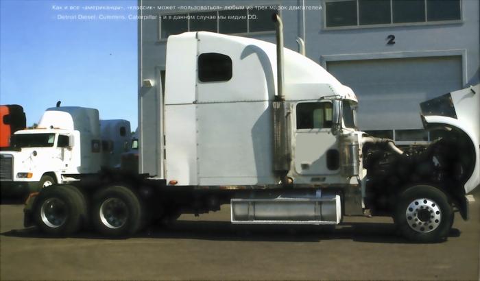 Строительное шасси Freightliner Business Class M2-106V, 6x4