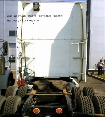 Седельный тягач Freightliner Coronado