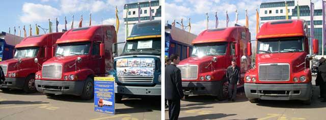 Автомобильные выставки в Иркутске и Чите. Фото 1