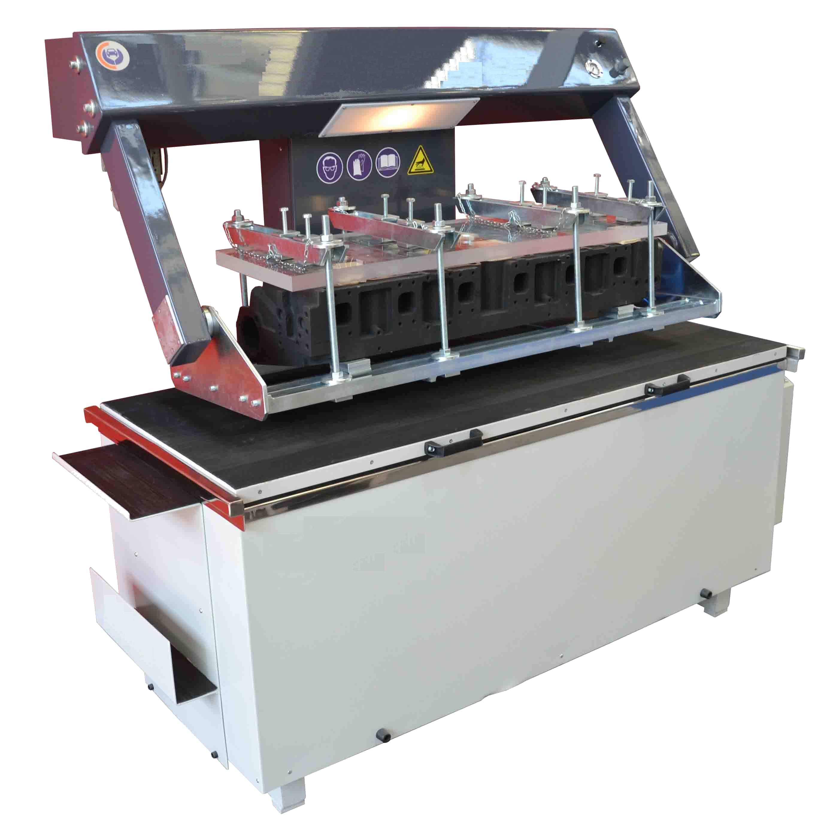 Стенд для опресовки теплообменника теплообменник iveco eurocargo